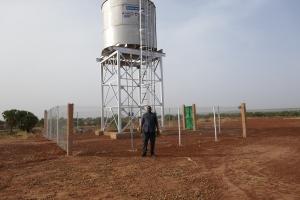 Ouvrage réalisé dans un village de la commune rurale de Torodi (Niger) Photo: I.M